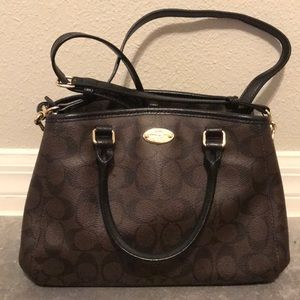 Coach Small Crossbody Bag with Pattern
